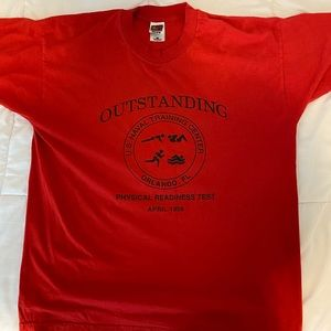 Vintage U.S. Naval Training T-Shirt
